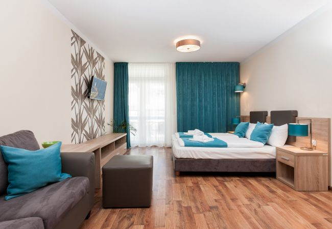 living room, sofa, tv, single beds, nightstand, night lamp, coffee table, rent